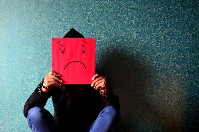 girl sad smiley face