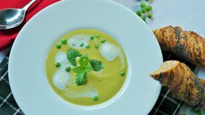 pea soup bread