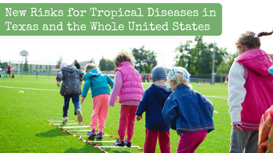 New Risks for Tropical Diseases like Zika and West Nile in Texas and the Whole United States