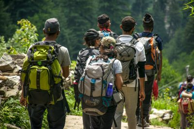 energy boost people hiking mountains