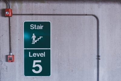fire alarm staircase