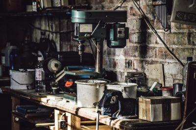 garage dirty