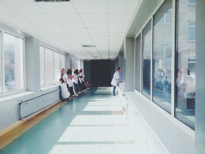 hospital hallway doctors
