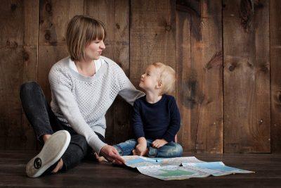mom child map
