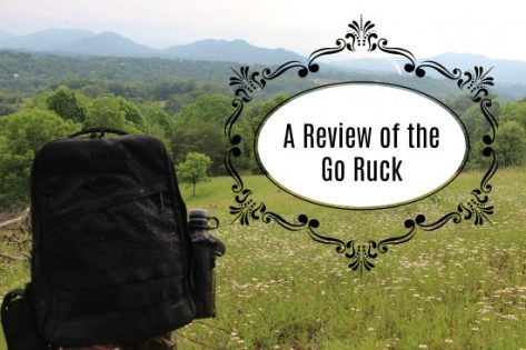 A Review Of The Go Ruck GR1 Rucksack