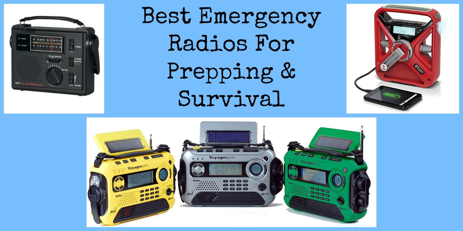 Best Emergency Radios For Prepping & Survival | Backdoor Survival