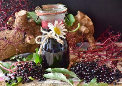elderberry drink