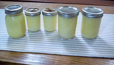 home canned butter