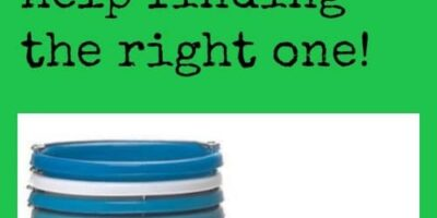 The Bucket List: The many uses of buckets and help finding the right one!
