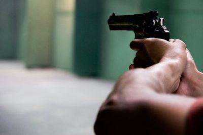 gun aiming firing shoot