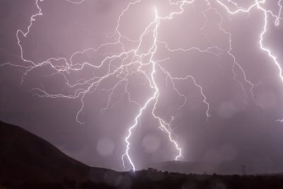sky lightning storm