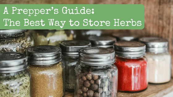 A Prepper's Guide: The Best Way to Store Herbs