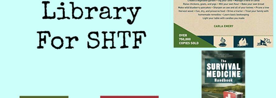 Building A Prepper Library For SHTF