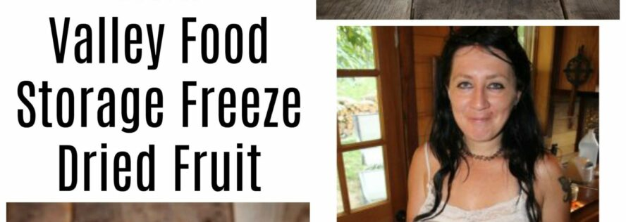 Making Smoothies With Valley Food Storage Freeze Dried Fruit