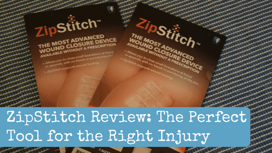 ZipStitch Review: The Perfect Tool for the Right Injury