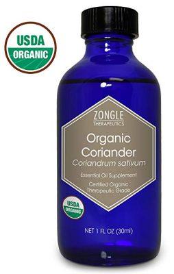 Zongle USDA Certified Organic Coriander Essential Oil