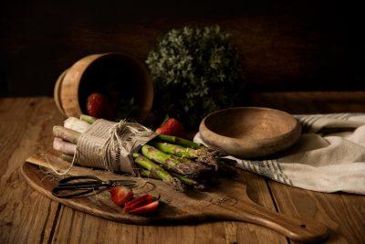 asparagus plant healthy
