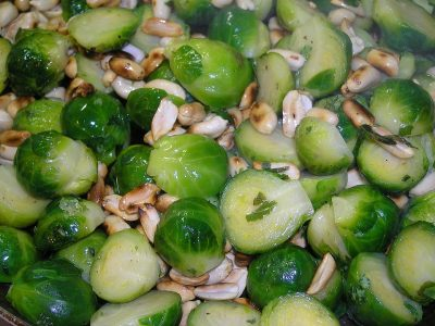 brussel sprouts dish