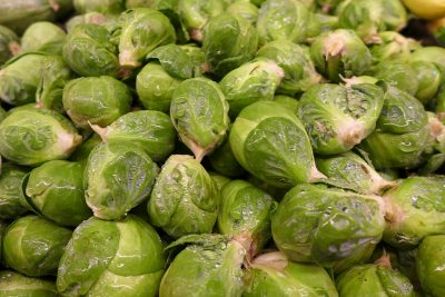 brussel sprouts water