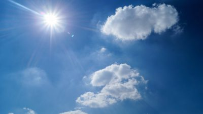 sun sky clouds sunny