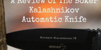 A Review of the Boker Kalashnikov Automatic Knife