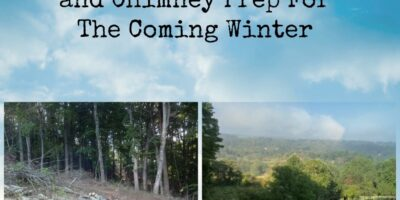 Firewood, Woodstove, and Chimney Prep For The Coming Winter