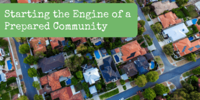 Starting the Engine of a Prepared Community