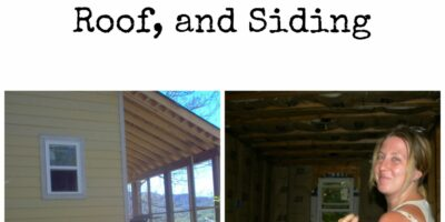 Building The House Part II: Framing, Loft, Roof, and Siding