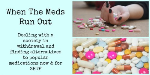 When The Meds Run Out: Dealing with a society in withdrawal