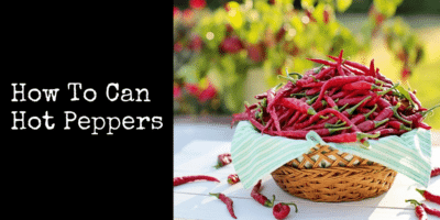 How To Can Hot Peppers