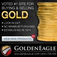 Golden Eagle Coin