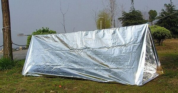 Mylar Blankets, Tarps, and Tents For Prepping and Survival