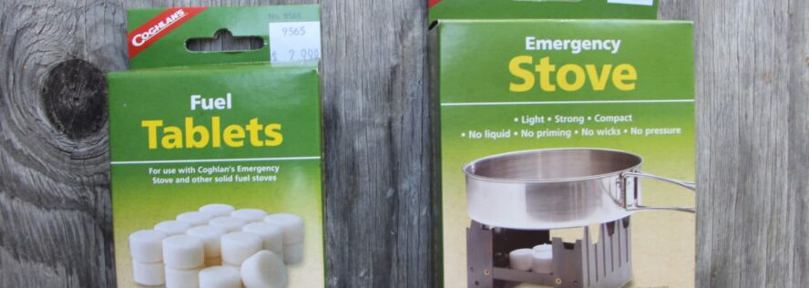 Coghlan's Emergency Stove and Fuel Tablets Review
