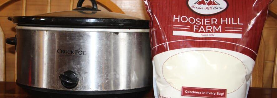 How To Make Yogurt & Yogurt Cheese With Powdered Milk & A Crock Pot
