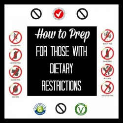 How to Prep for Dietary Restrictions | Backdoor Survival